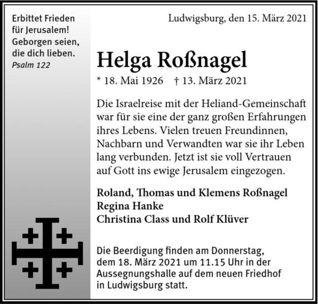 Ludwigsburger Kreiszeitung Trauer